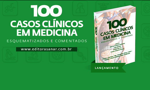 Lançamento do Livro 100 Casos Clínicos Comentados em Medicina - Convite
