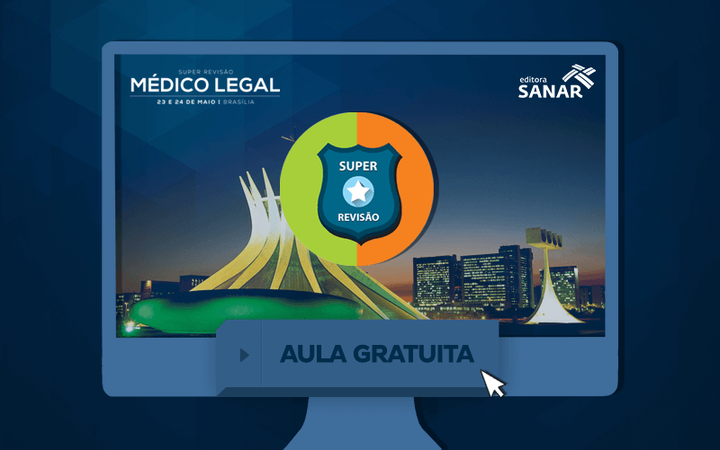 Aula Gratuita - SUPER REVISÃO MÉDICO LEGAL