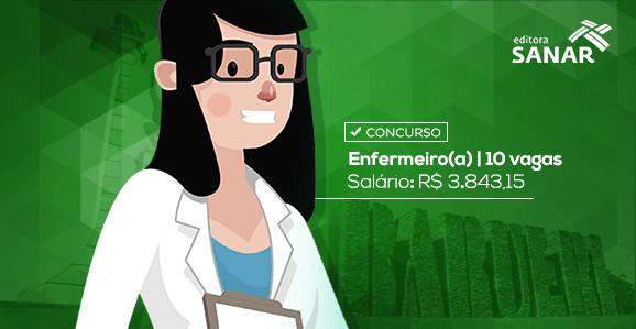 Concurso Público para Enfermeiros com remuneração de R$ 3.843,15 em Barueri - SP