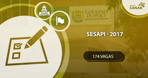 Concurso SESAPI deverá abrir 174 vagas em 2017