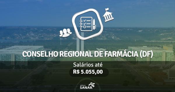Concurso do Conselho Regional de Farmácia do Distrito Federal