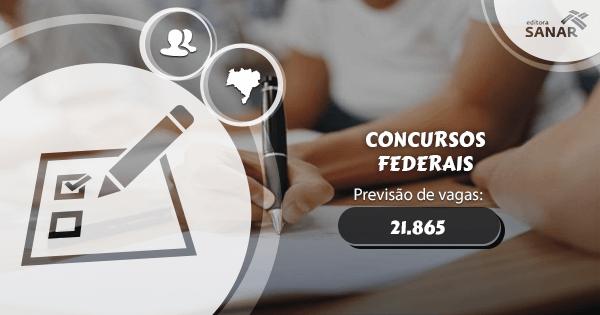 Concursos Federais podem abrir 21.865 novas vagas em 2017