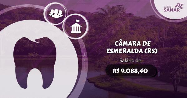 Concurso Câmara de Esmeralda (RS): edital aberto com vagas para Dentistas