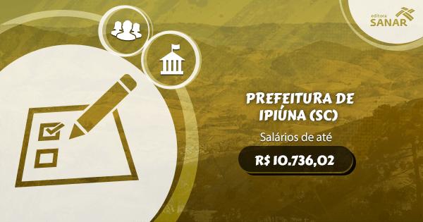 Concurso Prefeitura de Apiúna (SC): vagas para Enfermagem, Psicologia, Medicina e Odontologia