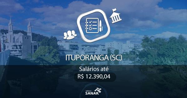 Prefeitura de Ituporanga (SC): processo seletivo para as áreas de Medicina e Odontologia