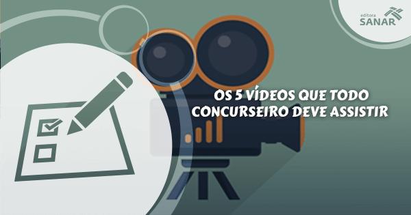 Assista os 5 vídeos que vão mudar sua forma de estudar para concursos