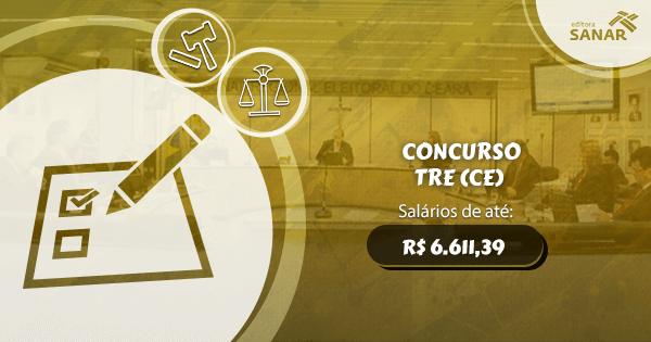 Concurso TRE-CE terá edital lançado até o fim desse semestre