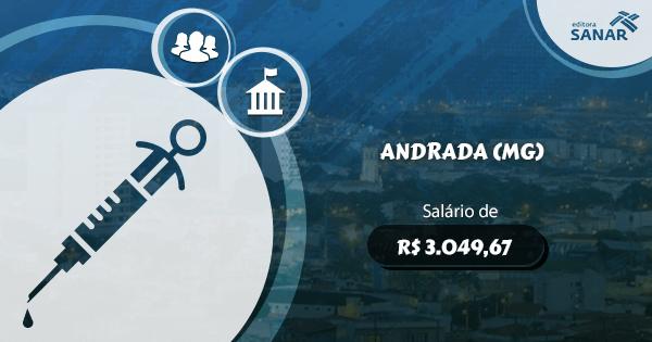 Concurso Prefeitura de Andrada (MG): edital aberto com vagas para Enfermagem