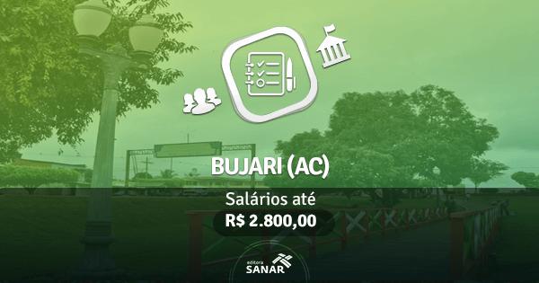 Prefeitura de Bujari (AC): edital publicado com vagas para Enfermagem, Psicologia e mais