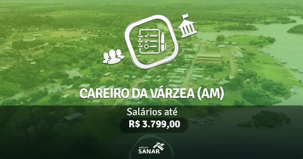 Prefeitura de Careiro da Várzea (AM): vagas para Enfermagem, Odontologia e outros