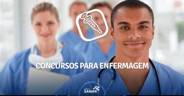 Panorama geral dos concursos para Enfermagem