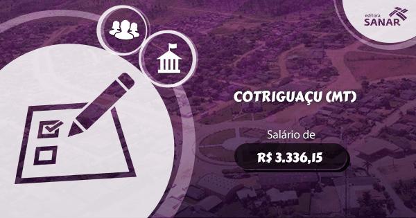 Concurso Prefeitura de Cotriguaçu (MT): vagas para Enfermagem e Odontologia