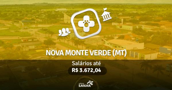 Prefeitura de Nova Monte Verde (MT): edital publicado com vagas para Medicina Veterinária
