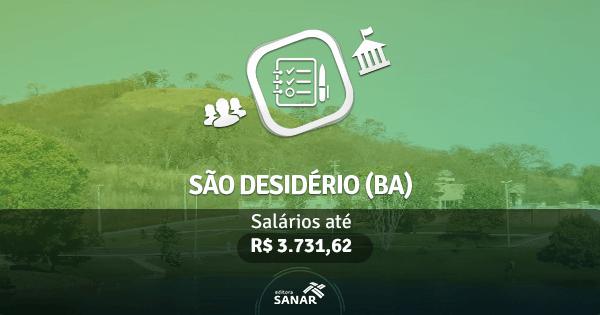 Prefeitura de São Desidério (BA): edital aberto com vagas para Nutrição, Enfermagem, Psicologia e mais