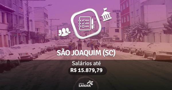 Concurso Prefeitura de São Joaquim (SC): edital aberto com vagas para Enfermagem, Medicina e Odontologia