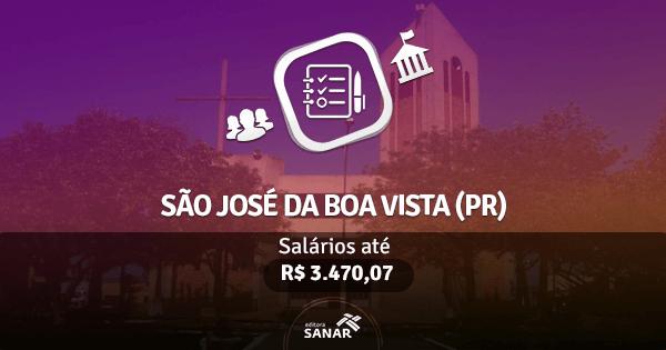 Prefeitura de São José da Boa Vista (PR): edital publicado com vagas para Odontologia e Farmácia