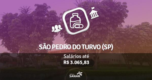 Concurso Prefeitura de São Pedro do Turvo (SP): edital aberto com vagas para Farmácia