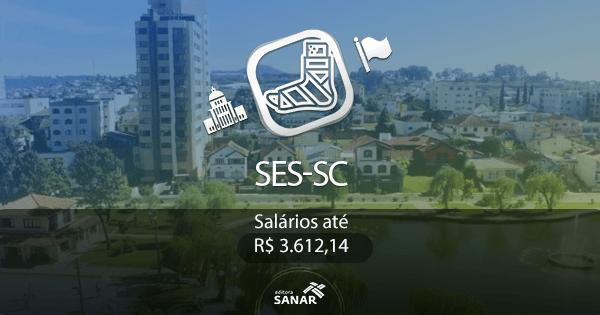 Secretaria de Estado da Saúde (SC): processo seletivo para a área de Fisioterapia