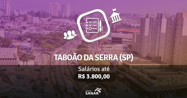 Prefeitura de Taboão da Serra (SP): concurso com vagas para Odontologia e Fisioterapia
