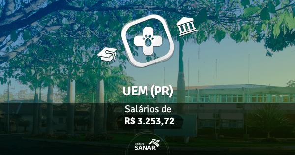 Concurso UEM (PR): vagas na área de Medicina Veterinária