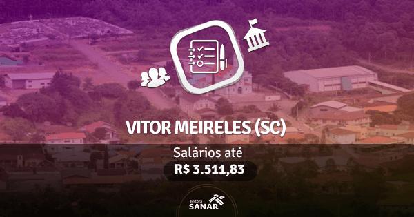 Concurso da Prefeitura de Vitor Meireles (SC): vagas para Enfermagem e Farmácia