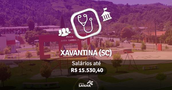 Prefeitura de Xavantina (SC): concurso público na área de Medicina
