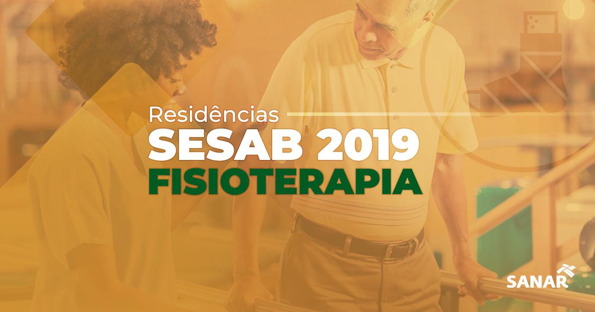 Fisioterapeuta: O que você precisa saber sobre a Residência SESAB 2019