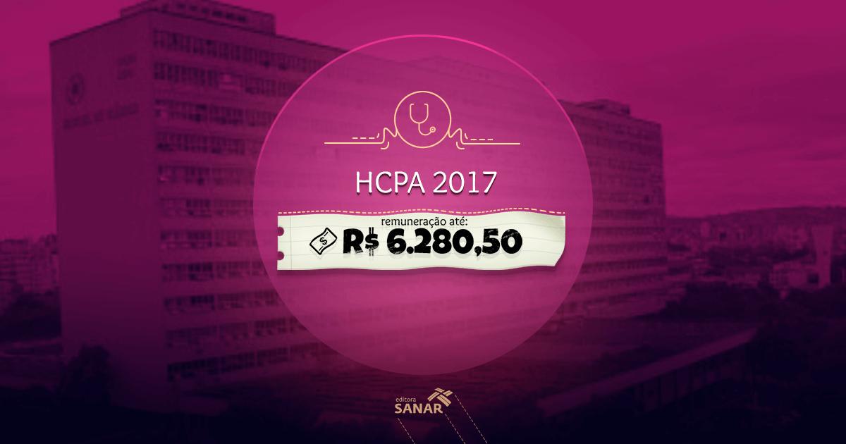 Concurso HCPA 2017: edital lançado com vagas para Psicologia, Medicina, Nutrição e Fisioterapia