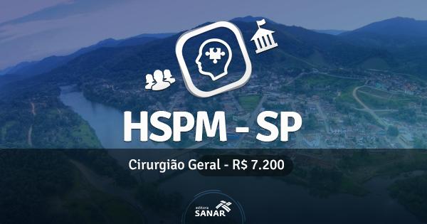 HSPM em São Paulo abre vaga para Médico Cirurgião Geral