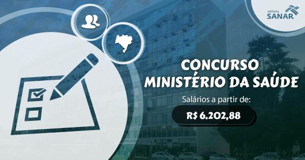 Concurso Ministério da Saúde 2017: previsto para esse ano