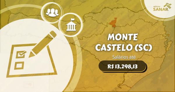 Prefeitura de Monte Castelo (SC) divulga concurso público com vagas para Enfermagem, Medicina e mais