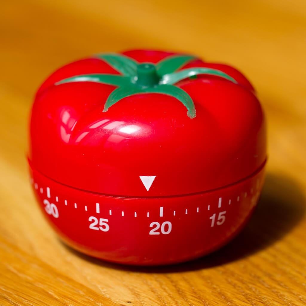 Otimizando o seu tempo com o método Pomodoro