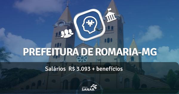 Prefeitura de Romaria (MG) abre concurso com vagas para Dentista