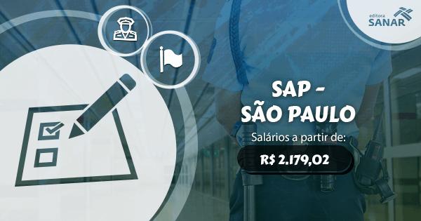 Secretaria Estadual de Administração Penitenciária de São Paulo abre concurso público para saúde