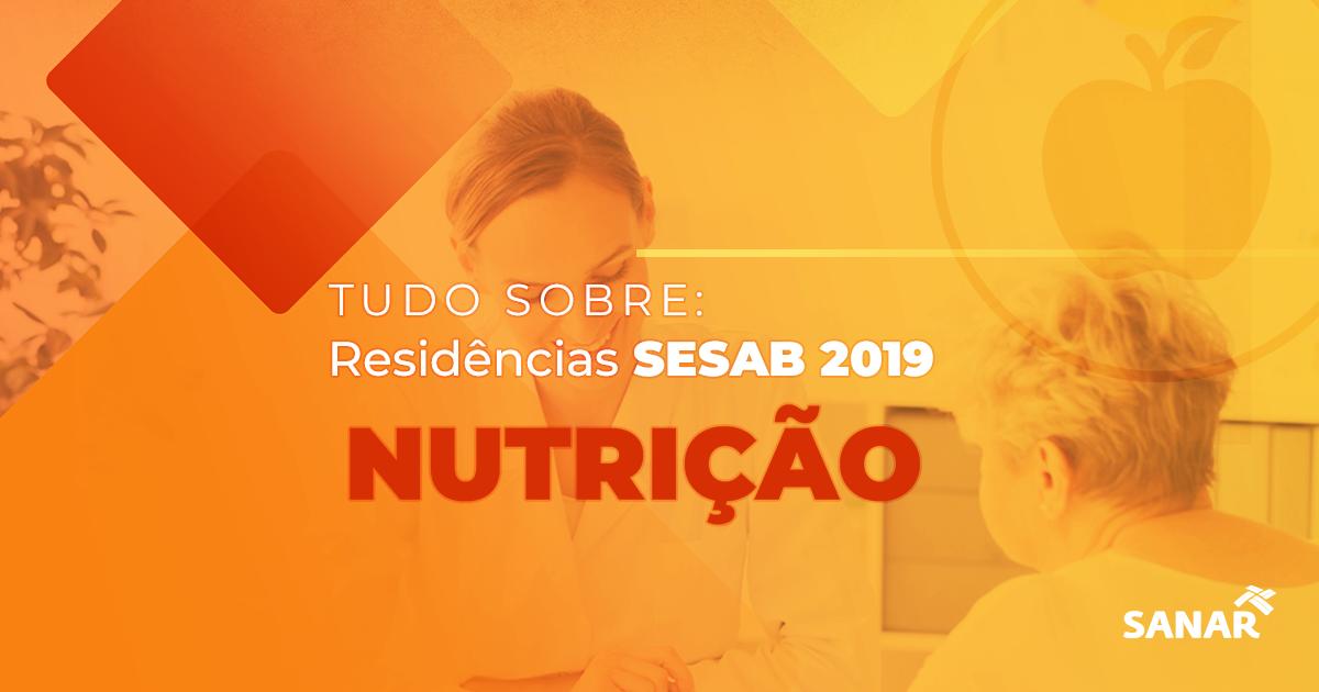 Residência SESAB: Tudo sobre os programas e vagas para Nutrição