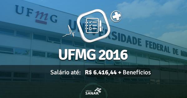 Concurso da UFMG 2016 aumenta número de vagas p/ Farmacêuticos e Médicos do Trabalho