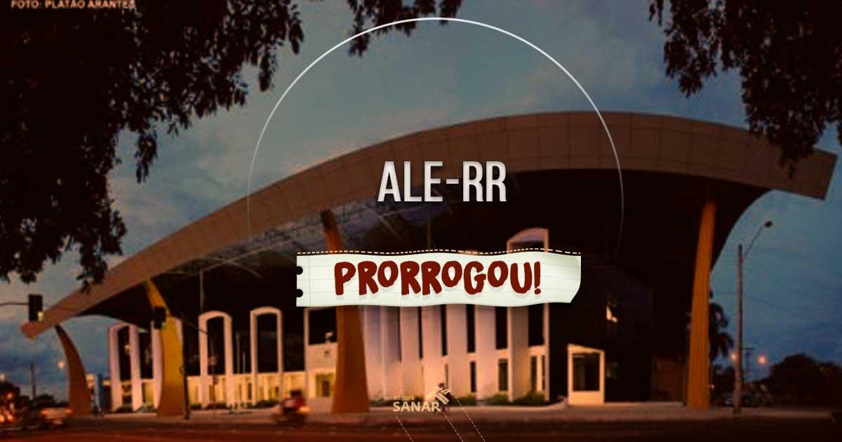 Concurso ALE-RR: salário de R$ 6.079,31 para áreas da saúde