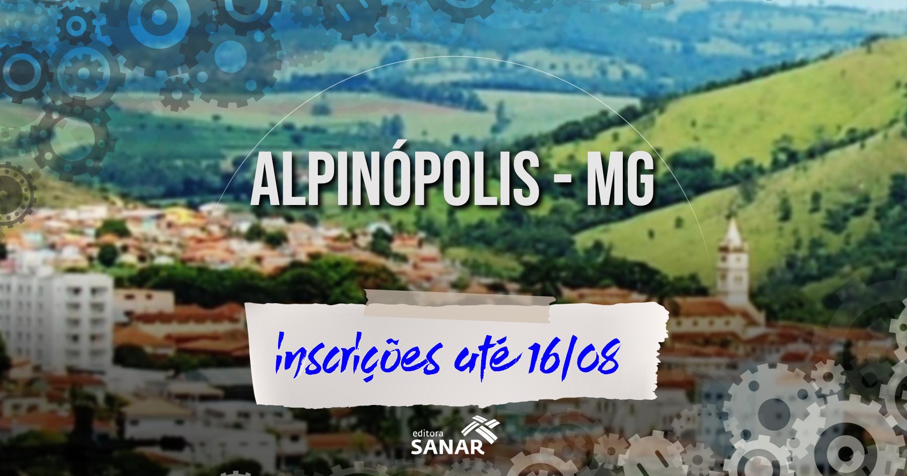 Seleção | Alpinópolis (MG) divulga edital