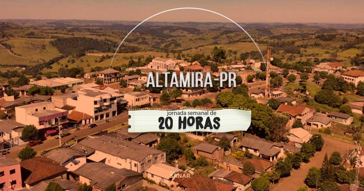 Prefeitura de Altamira do Paraná está com inscrições abertas