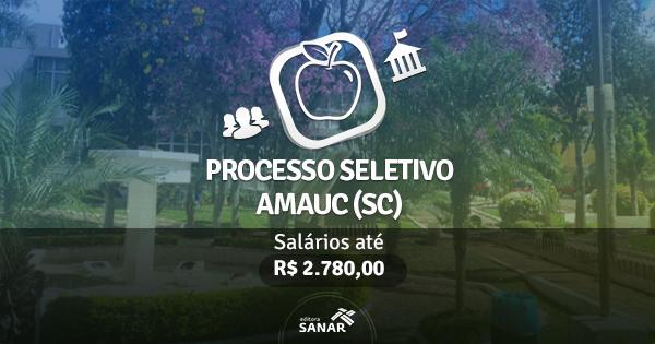 CIS AMAUC - SC abre processo seletivo