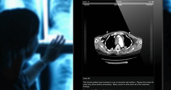 Aprenda gratuitamente a ler Tomografias em seu iphone ou ipad