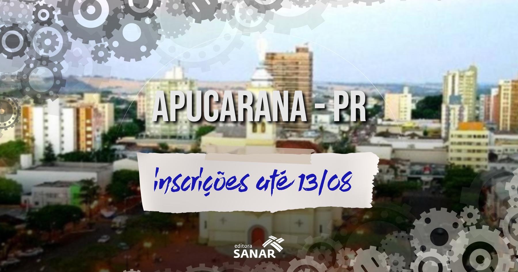 Concurso | Apucarana (PR) seleciona Veterinário e Farmacêutico
