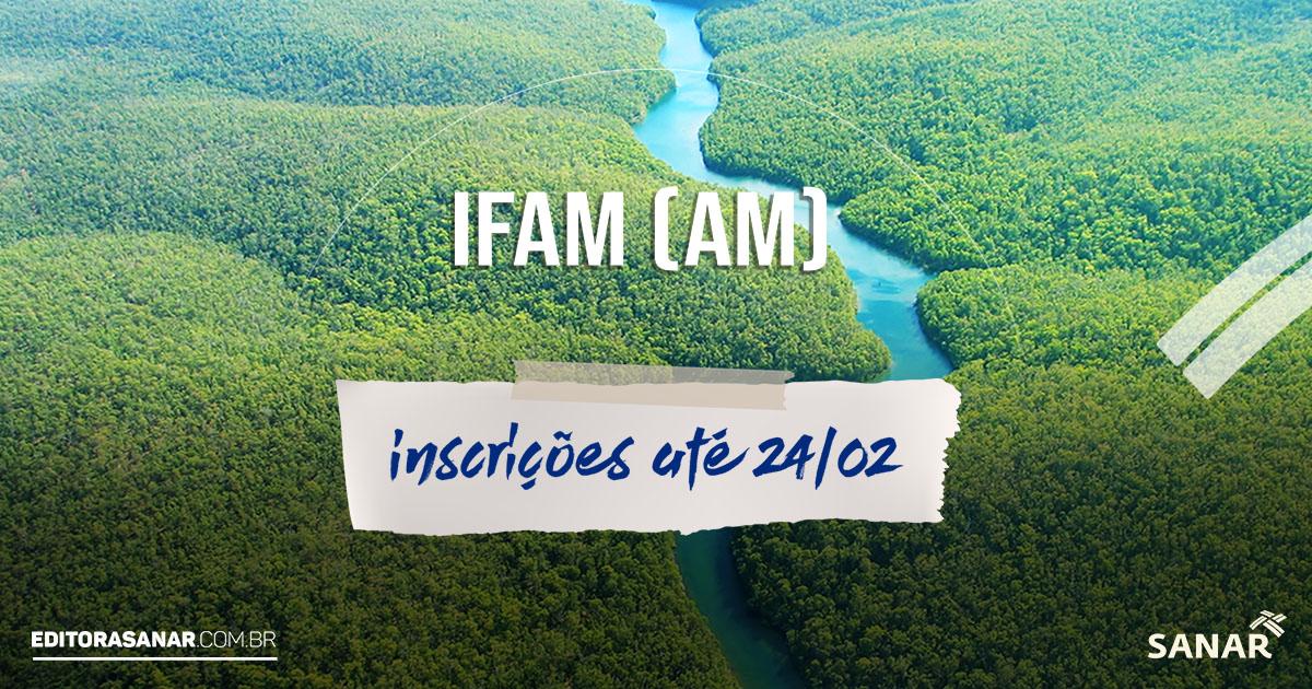 Concurso aberto IFAM 2019: salários de até R$ 7,7 mil na área da Saúde