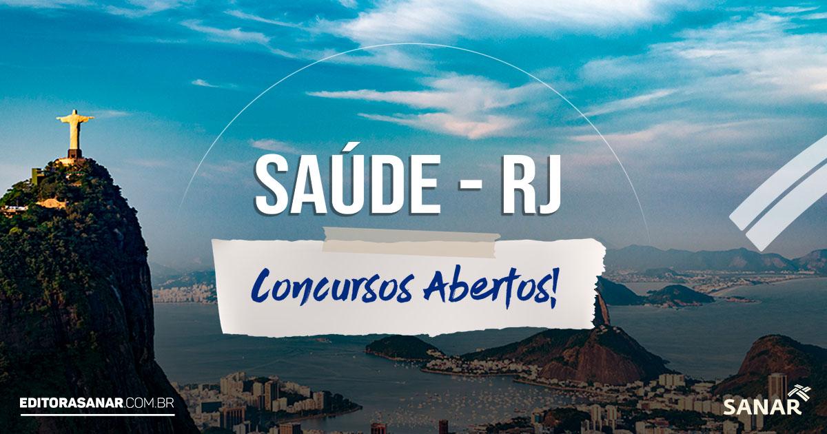 Concursos Abertos e Previstos no Rio de Janeiro - RJ em 2019 na Saúde