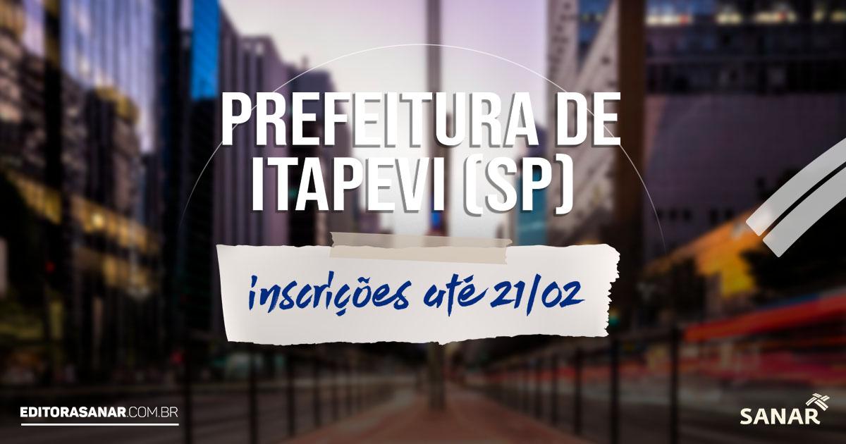 Prefeitura de Itapevi (SP): concurso aberto oferta 42 vagas na área da saúde. Salário de até R$ 7 mil