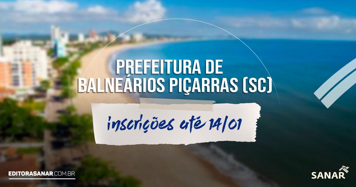 Prefeitura de Balneário Piçarras (SC): concurso oferta 13 vagas para profissionais de Saúde