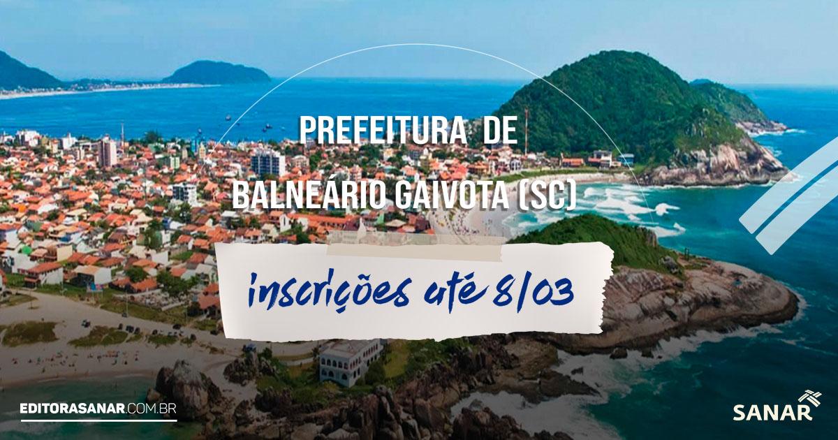 Prefeitura de Balneário Gaivota (SC): concurso aberto para formação de cadastro reserva para profissionais de Saúde. Sal