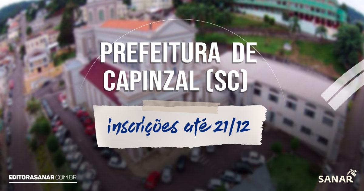 Prefeitura de Capinzal (SC): concurso oferta 10 vagas para profissionais de saúde com salários de até R$ 16 mil