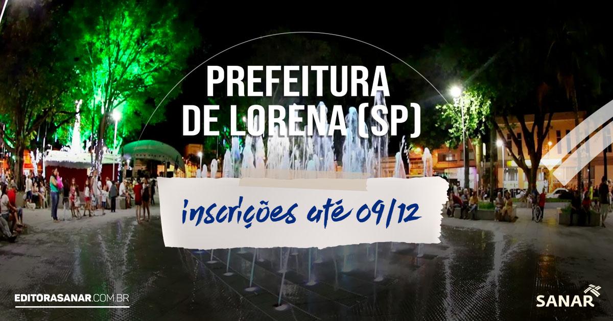 Prefeitura de Lorena (SP): concurso oferta 26 vagas para profissionais de Saúde. Salários de até R$ 4,1 mil