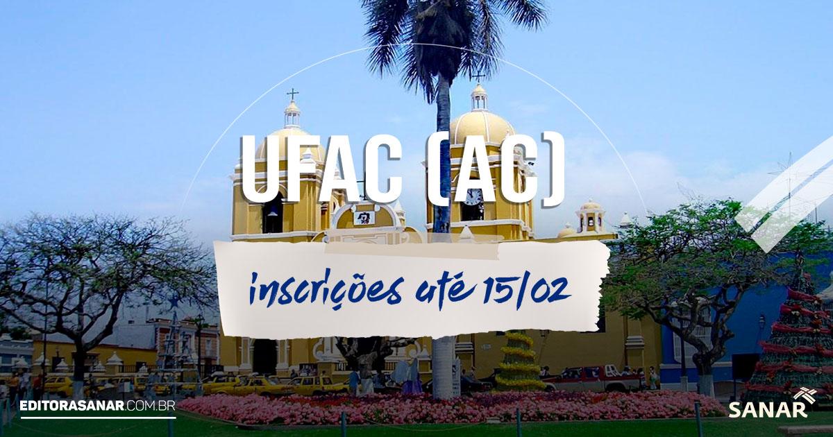 Concurso UFAC:  vagas para médicos e psícólogos. Inicial de R$ 4,2 mil